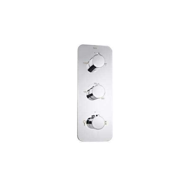 Термостат Roca Puzzle 4 выхода, хром 5A2878C00