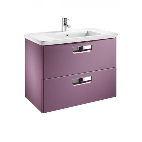 Комплект тумба + раковина Roca The Gap, 60 см, фиолетовая ZRU9302742 +327472000