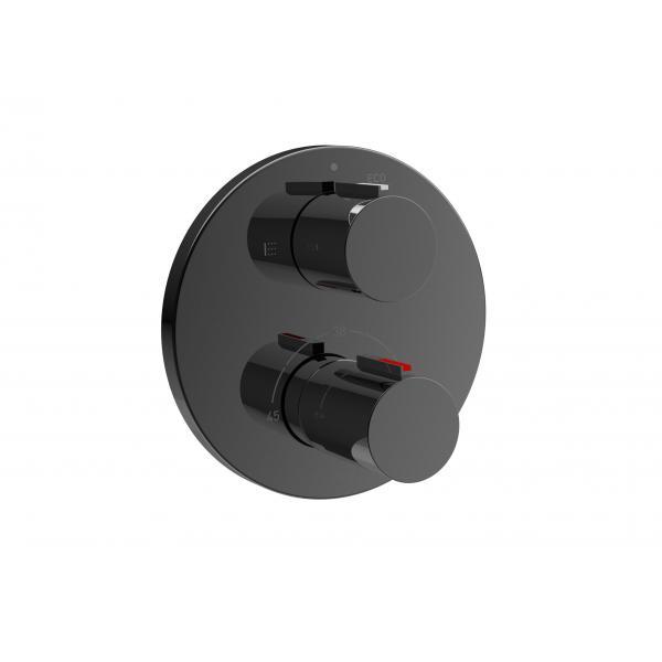 Термостат Roca T-1000 для ванны-душа, черный глянец 5A0C09CN0