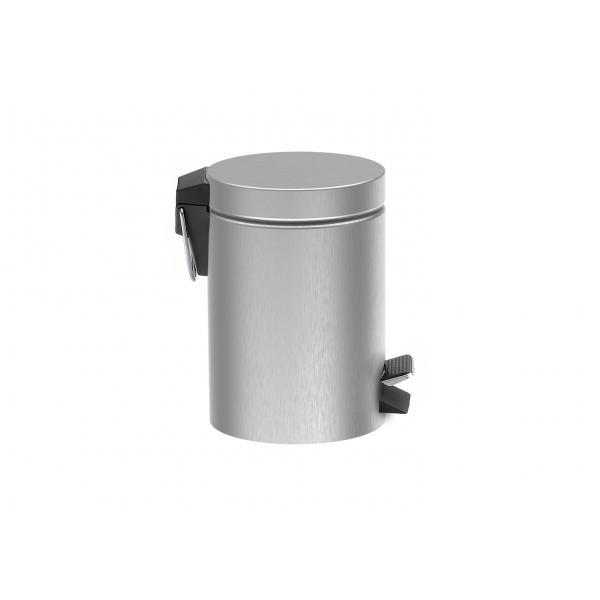 Ведро для мусора Roca Public, сатин 817414002
